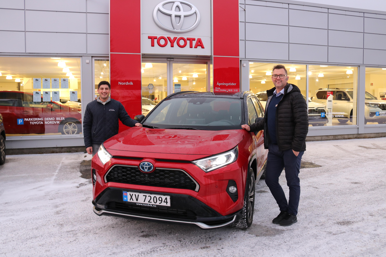 En bredde av bilmodeller sikret nok et solid år for Nordvik Toyota Mosjøen
