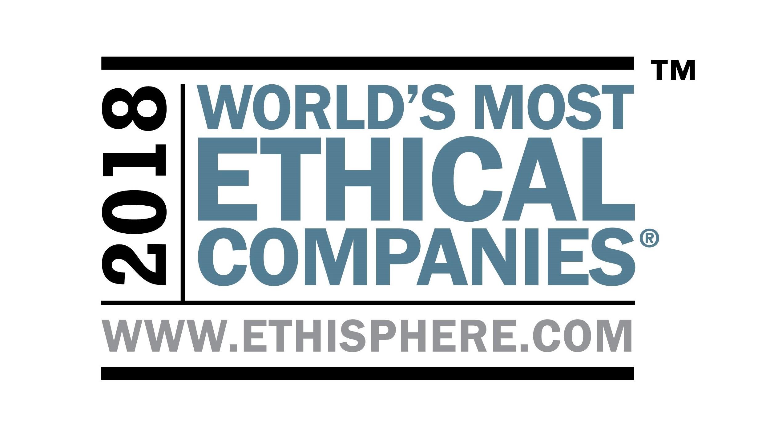 Kåret til et av verdens mest etiske selskap for åttende år på rad