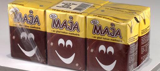 Maja kakaomælkedrik tilbagekaldes fra Sjællandske butikker
