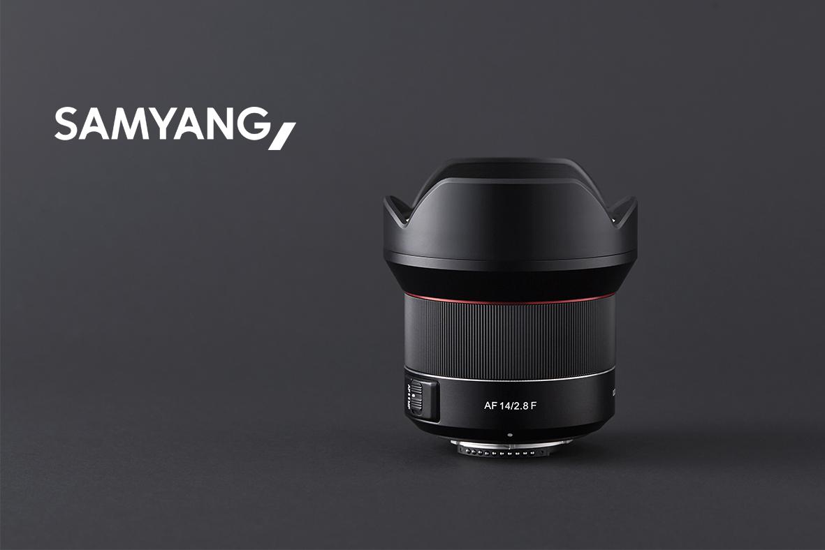 Pirmasis Samyang AF objektyvas skirtas Nikon