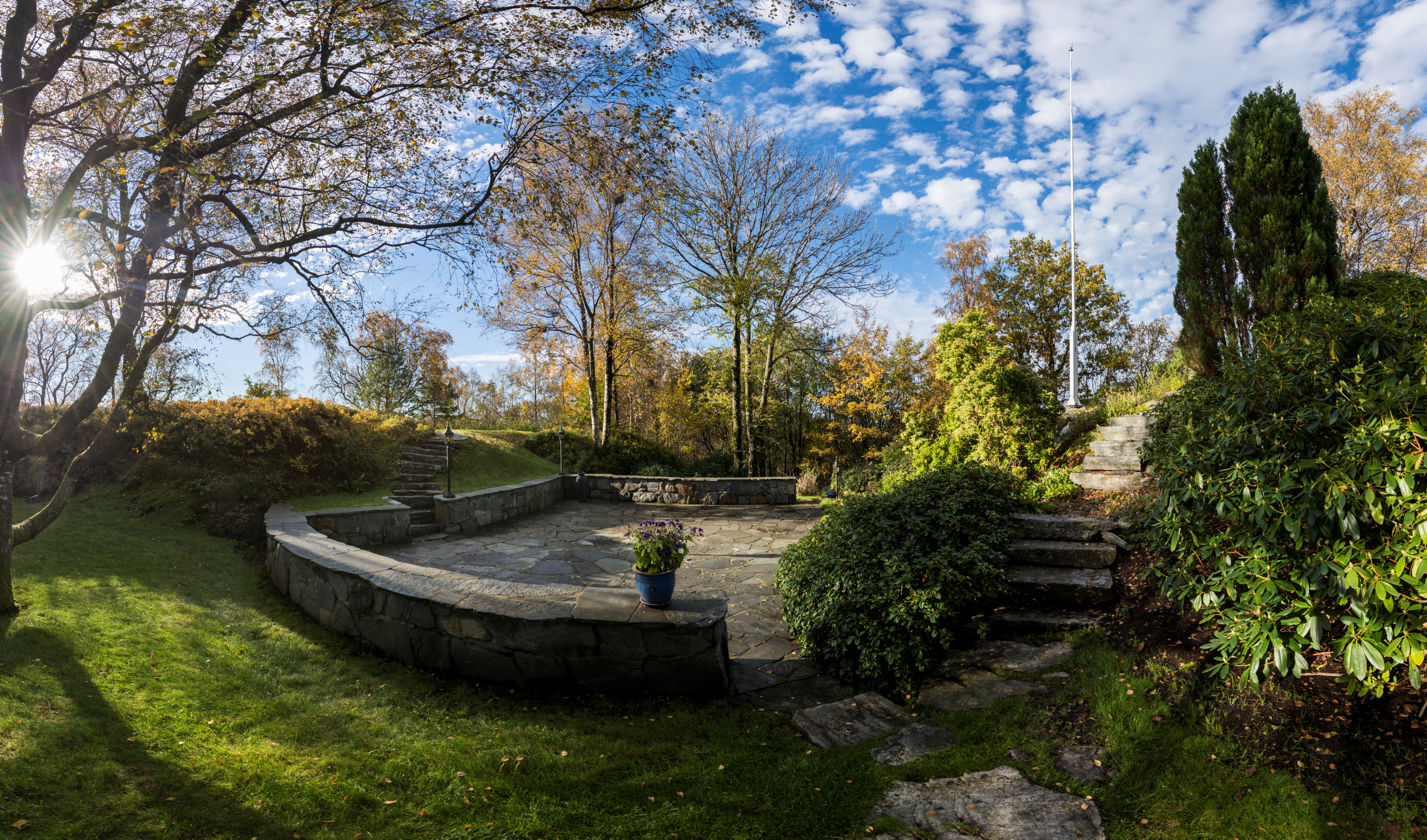 The Home And Garden Of The Norwegian Composer Harald Saeverud Now Part Of The Place Belongs To Kode Museum The National Museum Of Norway