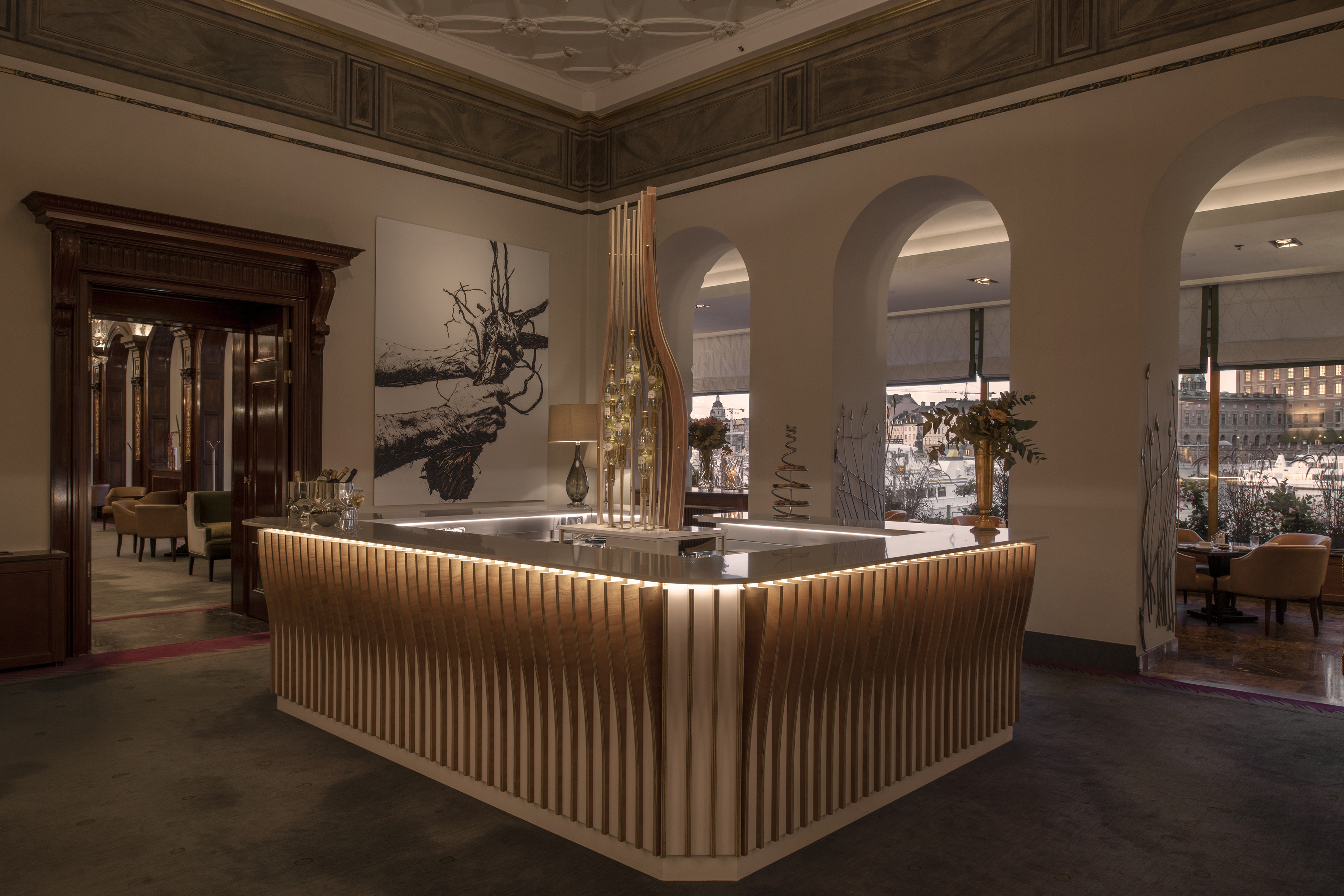 Grand Hotel Opens Exclusive Champagne Bar Grand Hotel