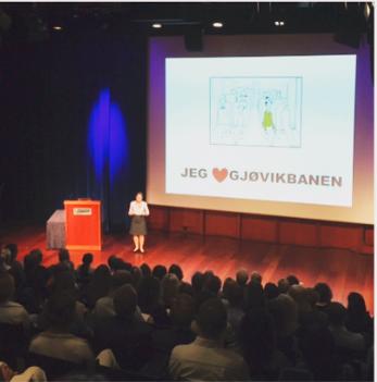 Norske bedrifter kan lære av Gjøvik-banen