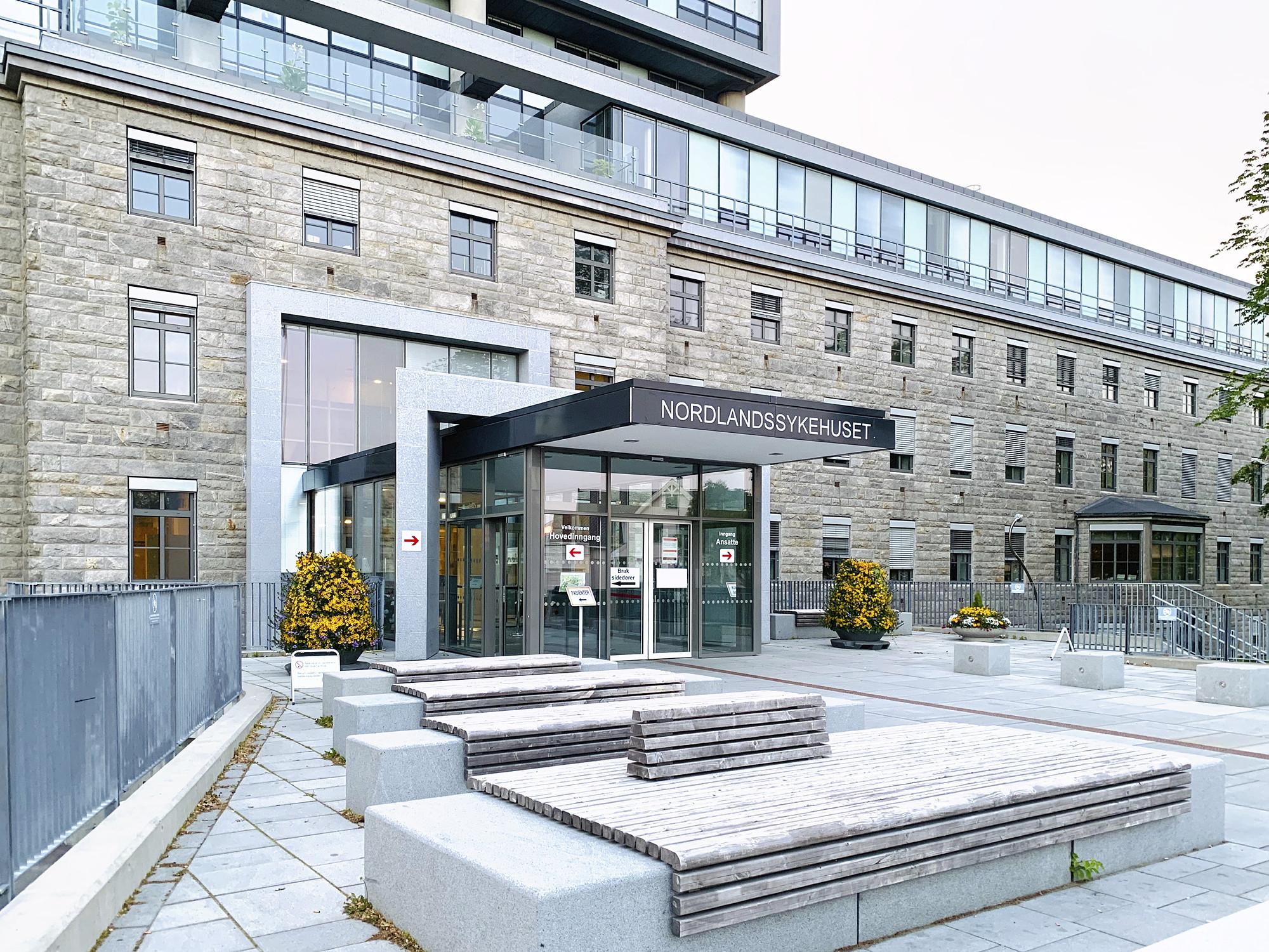 Nordlandssykehuset er i likhet med alle sykehus i Norge miljøsertifisert som følge av myndighetenes krav om innføring av et miljøstyringssystem. (Foto: Nordlandssykehuset)