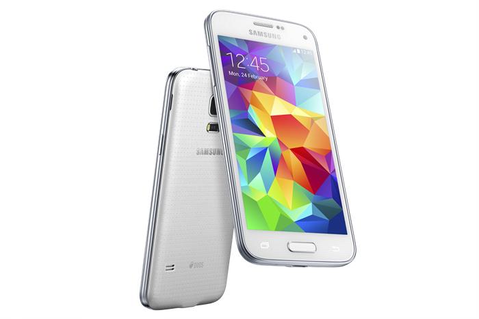 Samsung Galaxy S5 mini smarttelefon (gull) Mobiltelefon