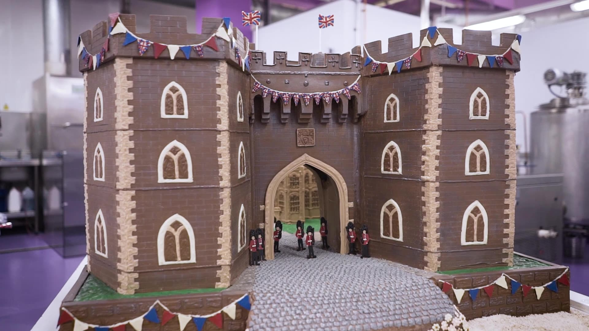 Cadbury World chocolatiers celebrate royal match made in chocolate heaven