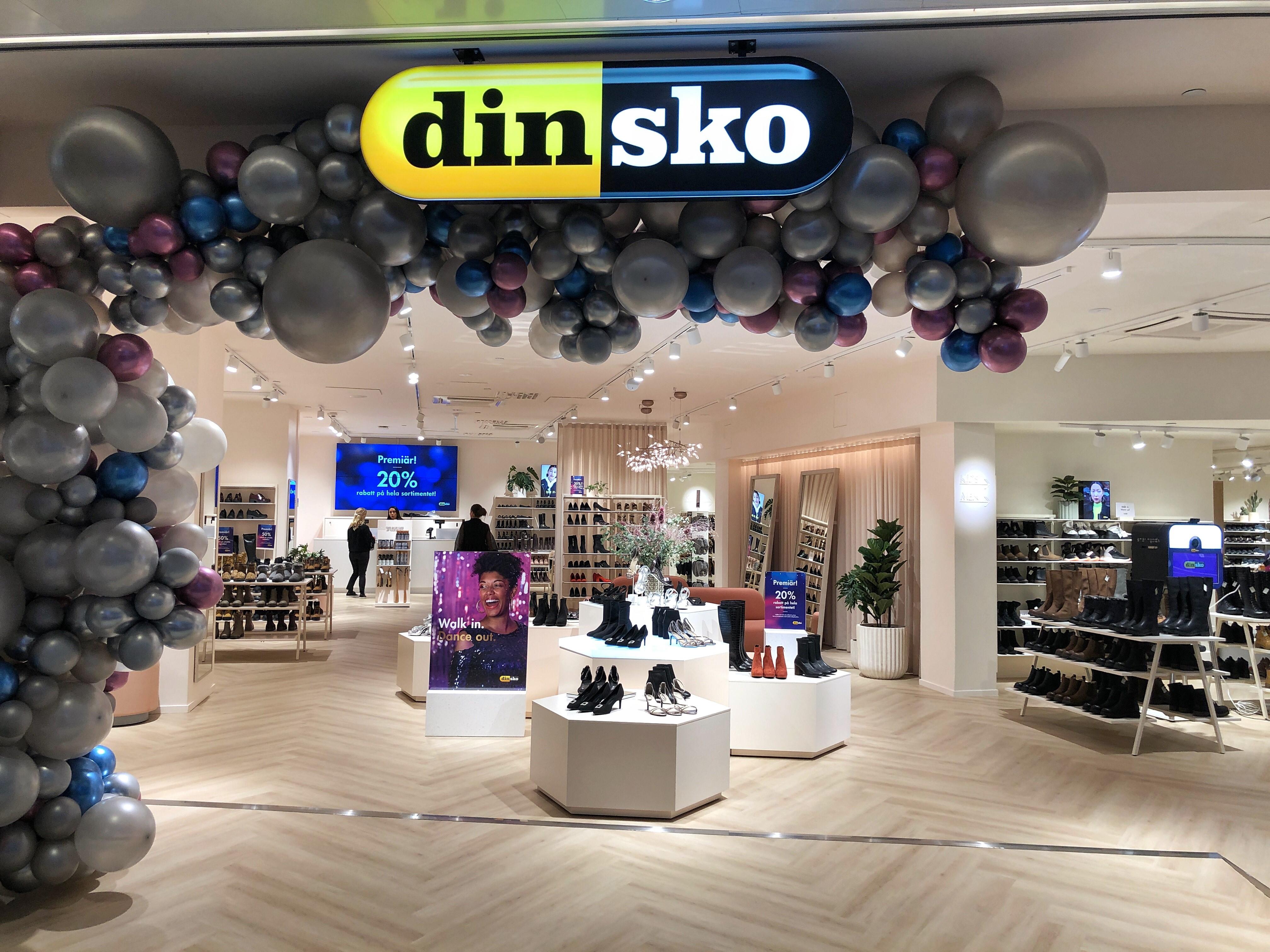 DinSko öppnar nytt flaggskepp i Gallerian NilsonGroup
