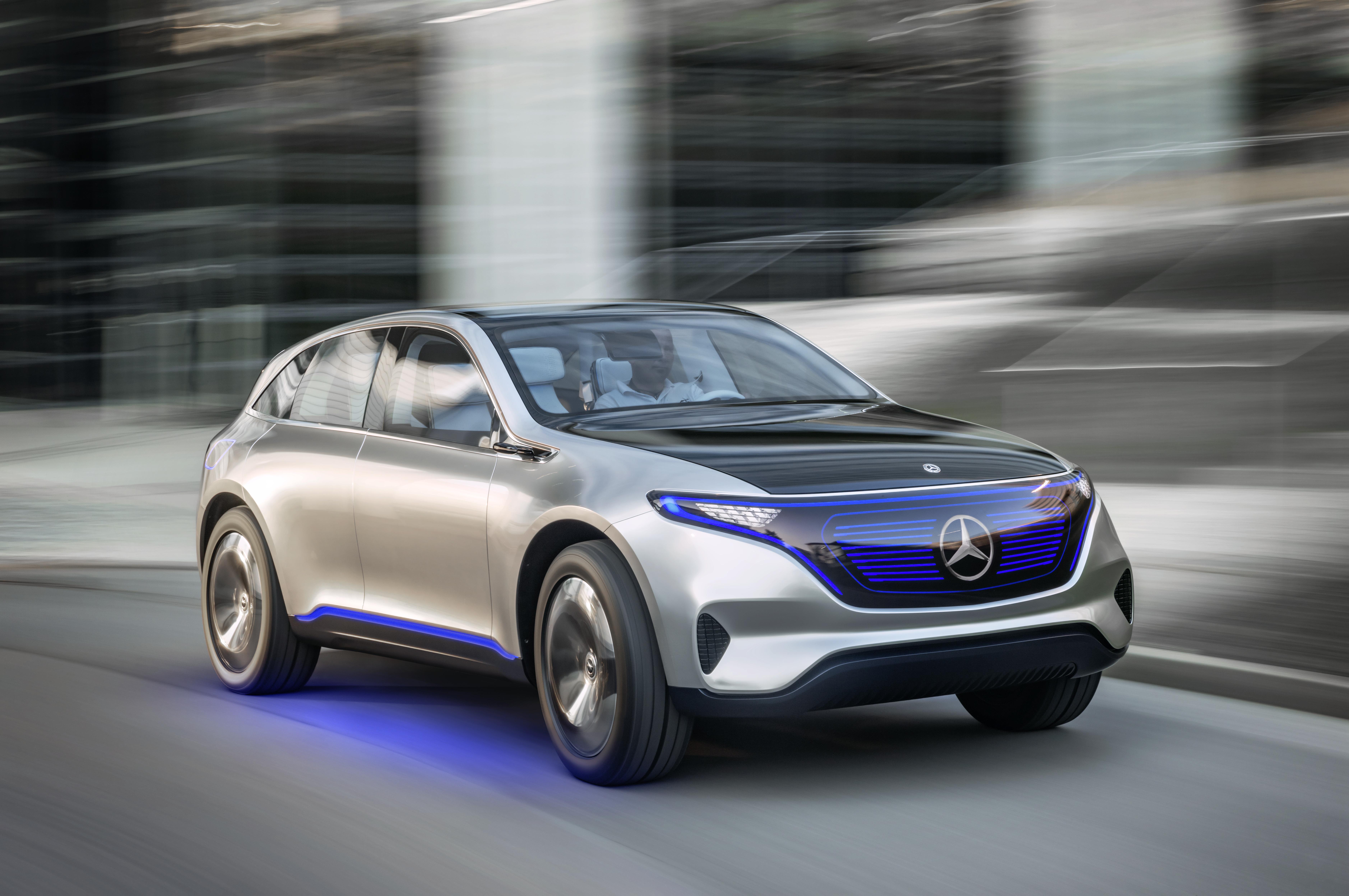"""Mercedes visar """"Generation EQ"""" i Almedalen"""