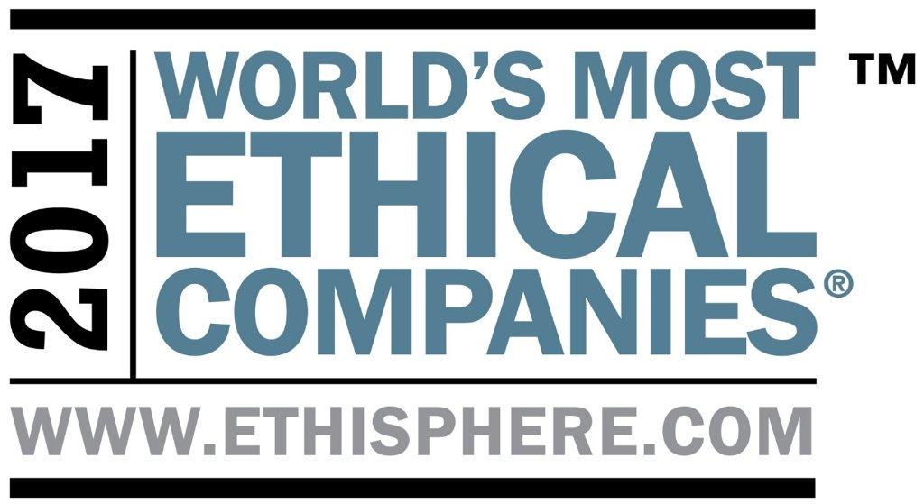 Kåret til et av verdens mest etiske selskap for syvende år på rad