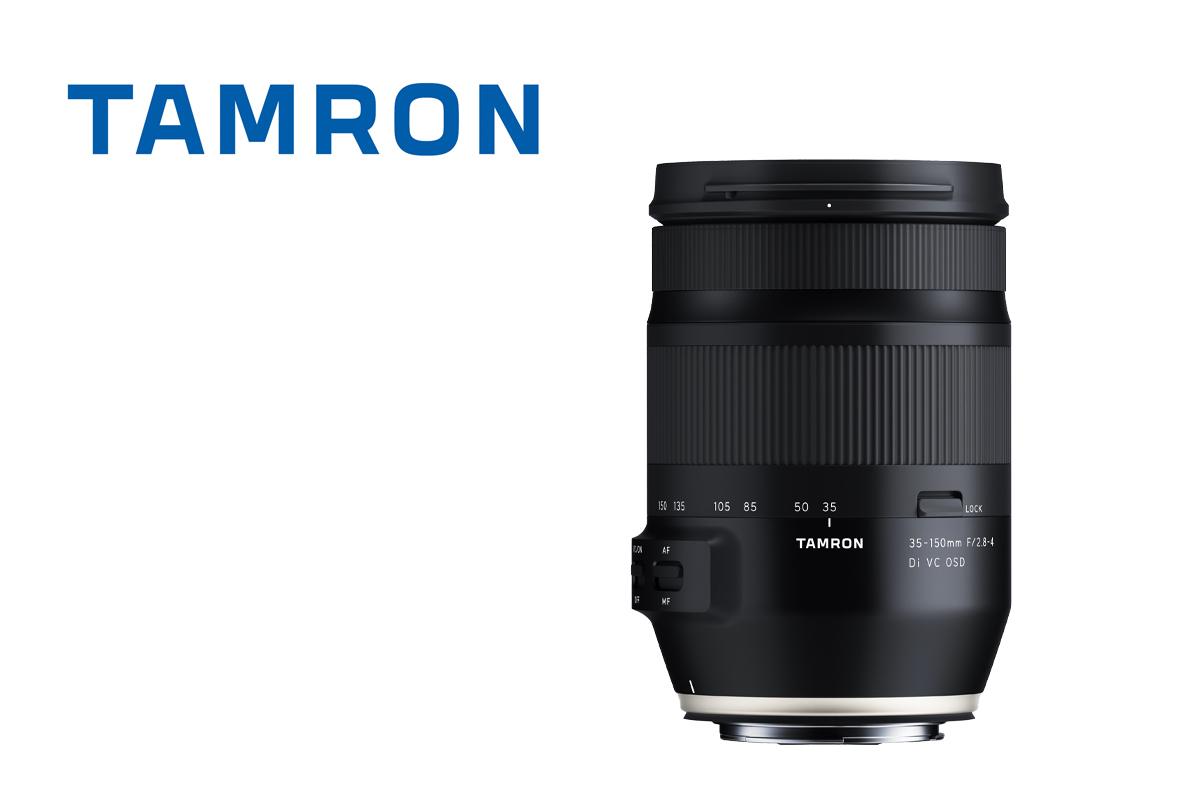 Tamron pristato universalų zoom objektyvą pilnam kadrui