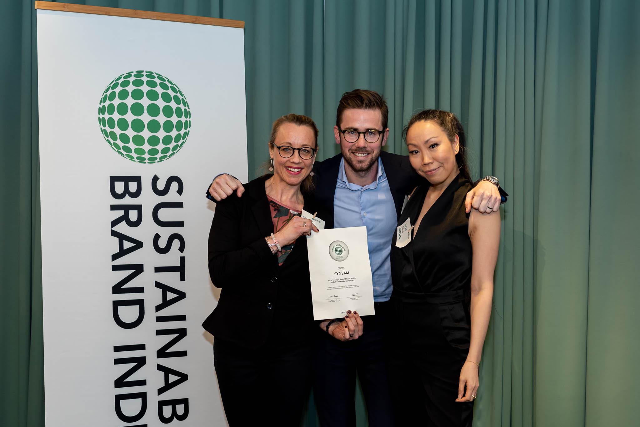Synsam är Sveriges mest hållbara optiker enligt svenska