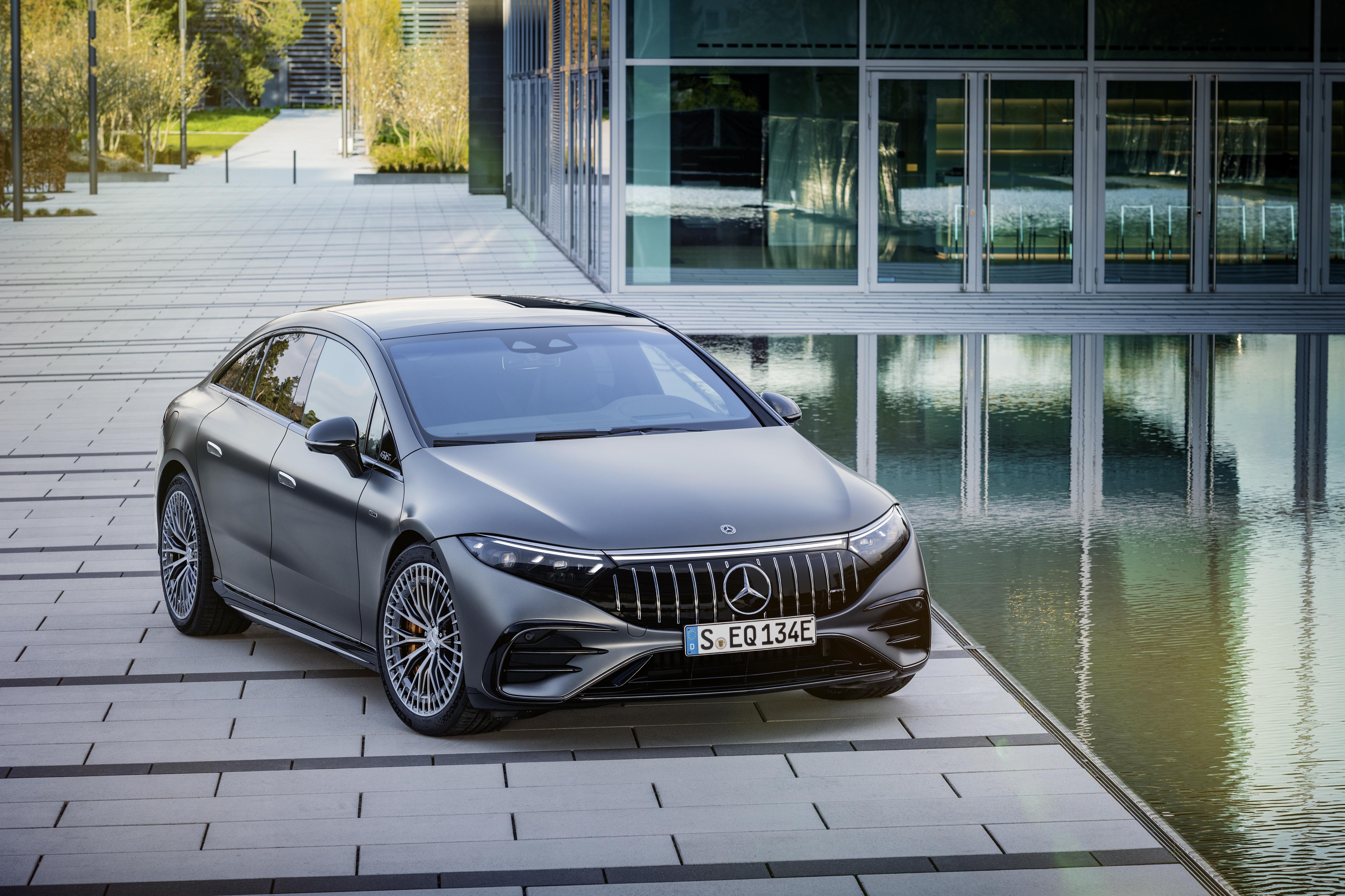 Första helt eldrivna modellen från Mercedes-AMG