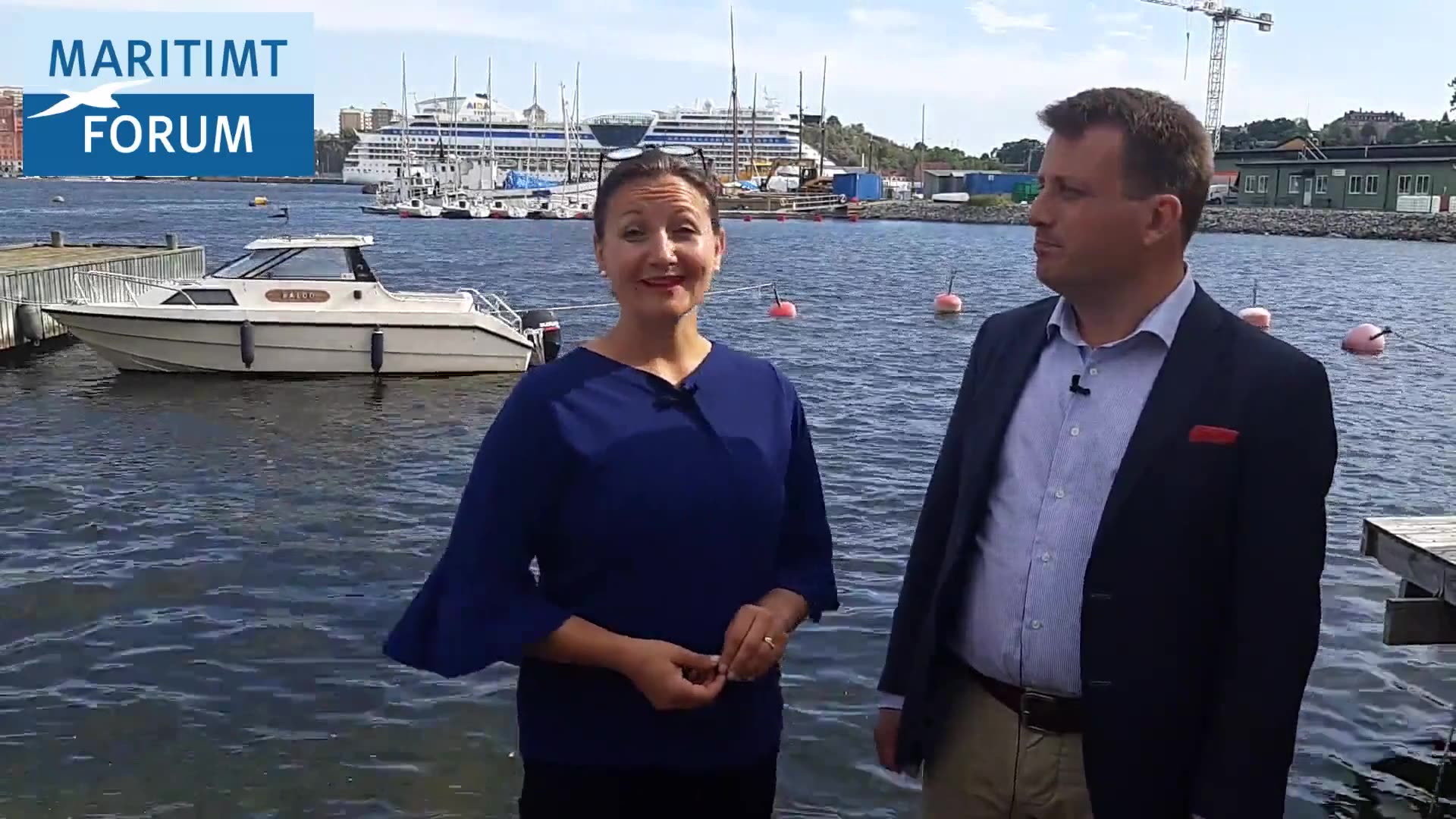 Välkommen till Maritim Mötesplats i Almedalen & glad sommar!