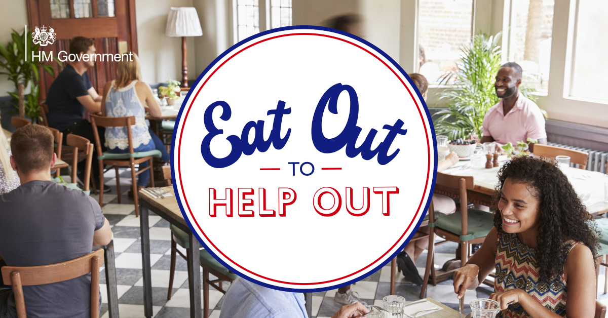 Eat Out to Help Out – look for the logo - HM Revenue & Customs (HMRC)