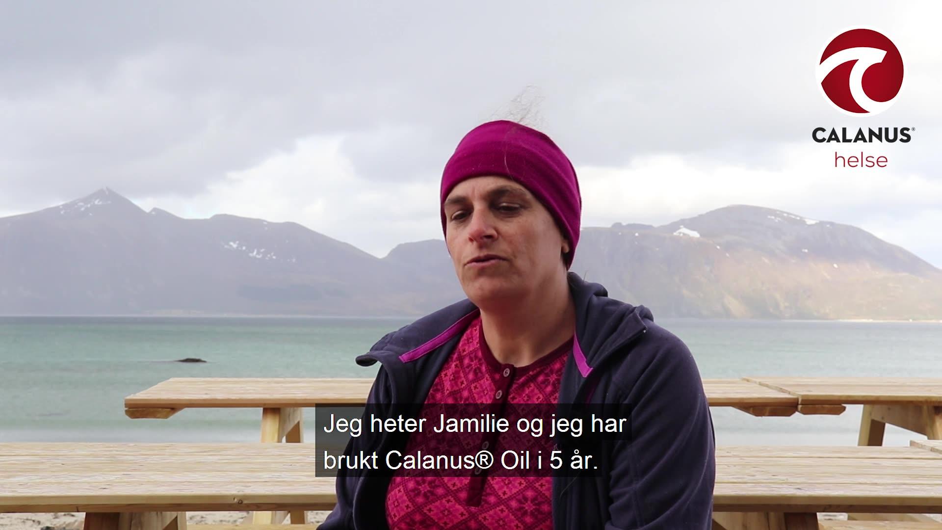 Jamilie har brukt Calanus® Oil i flere år