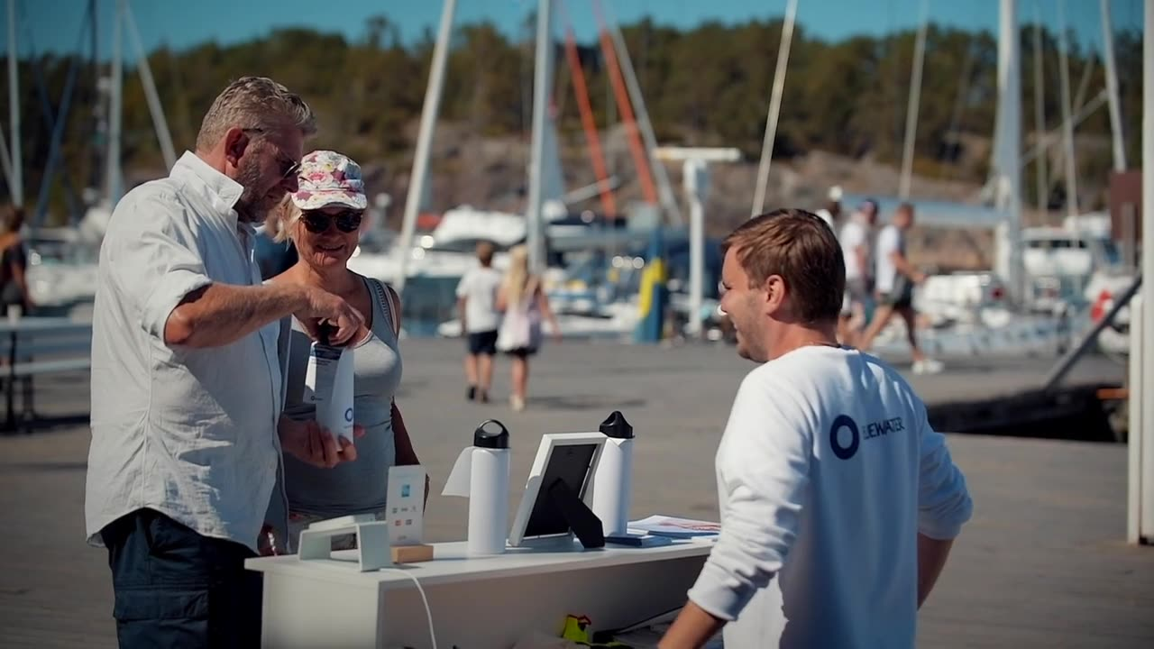 Quiet drinking water revolution underway in Baltic Sea as island nature reserve  goes off the water grid