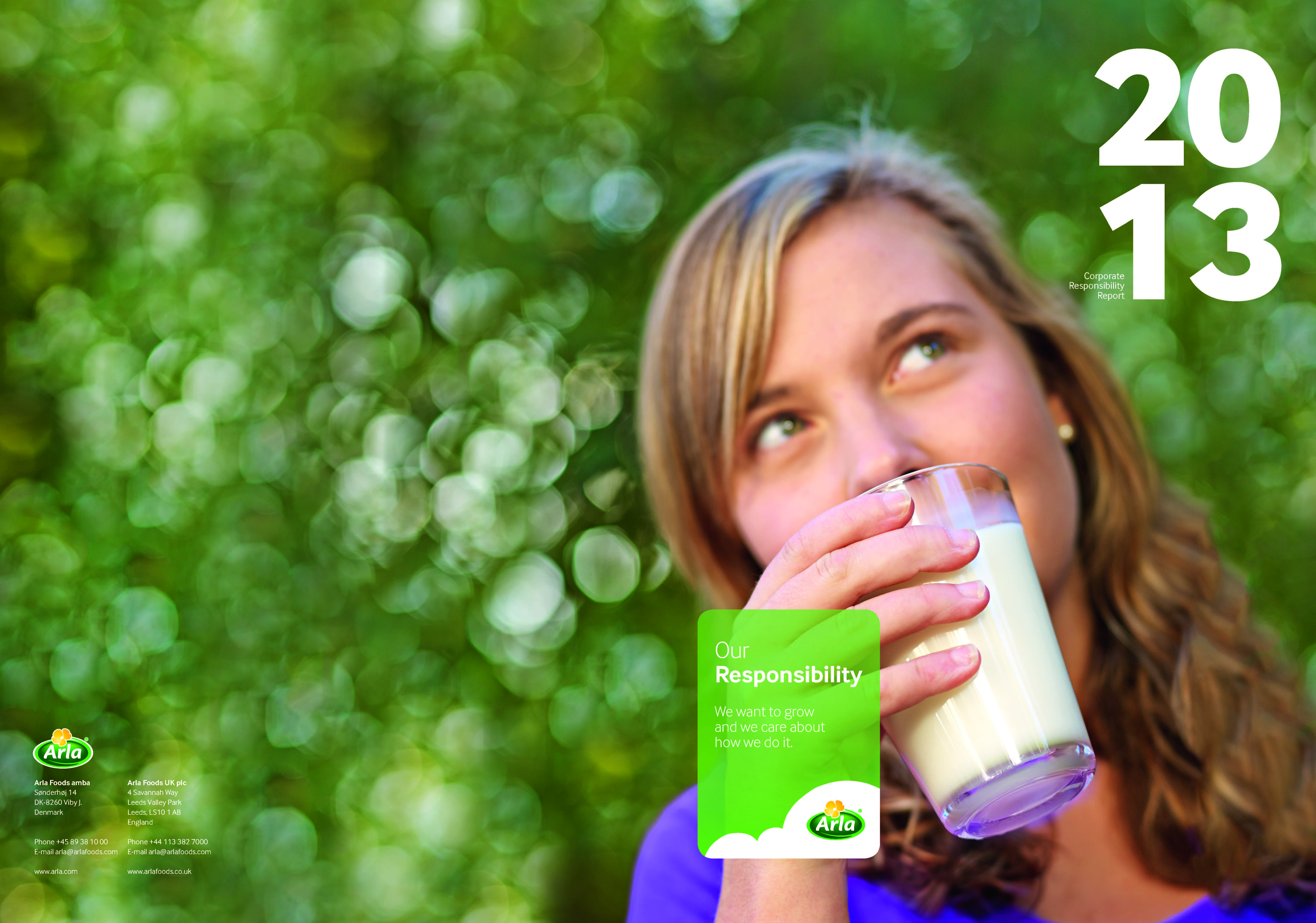 Arla's 2013 reports available to download