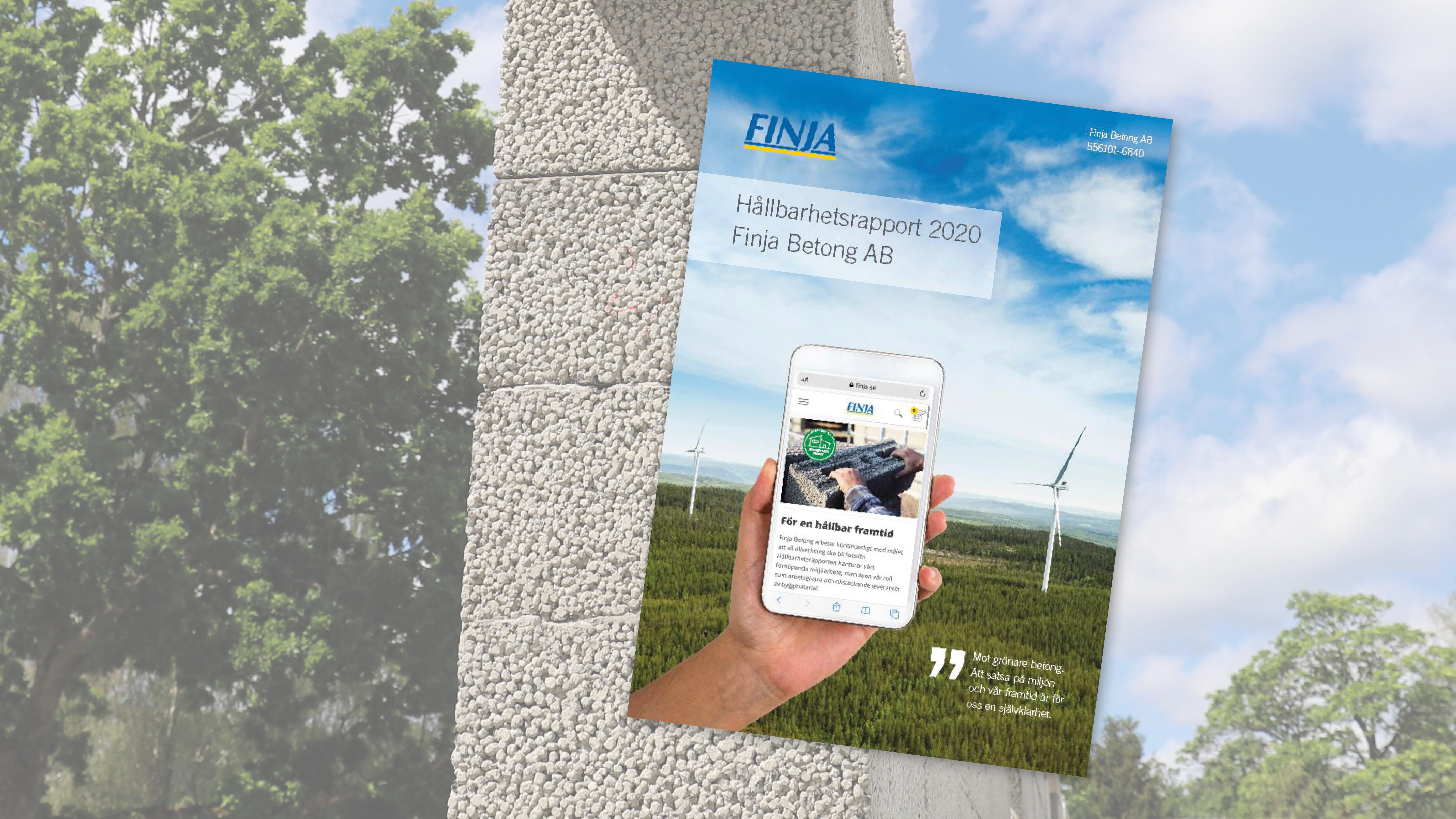 Finja Betong Hållbarhetsrapport 2020