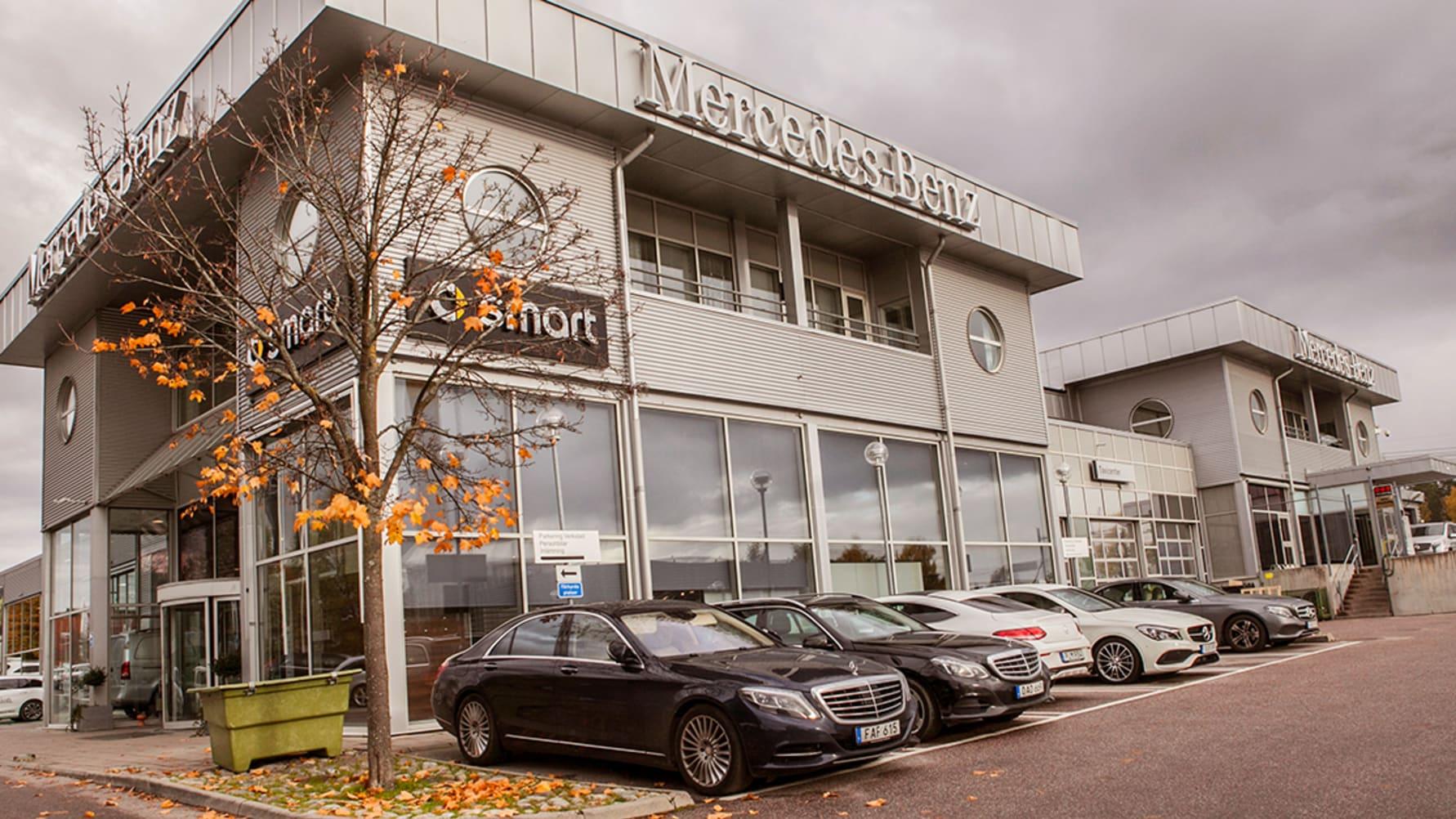 Bilia köper Upplands Motor. Blir återförsäljare för Mercedes-Benz.