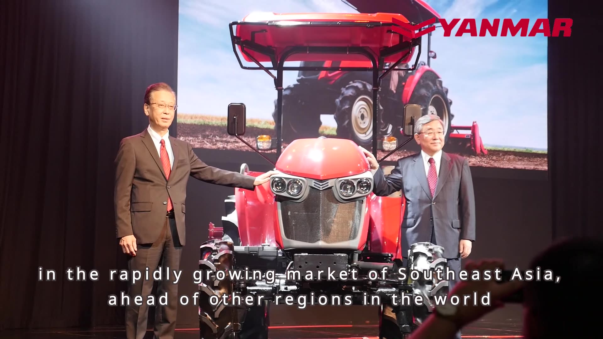 Unveiling of Yanmar YM Tractor