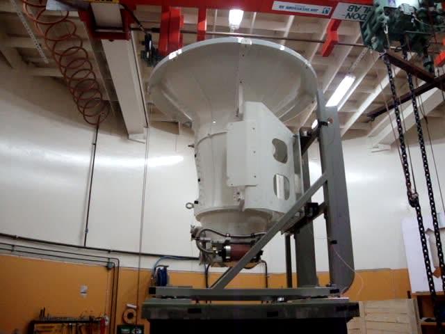 Vibration tests in Karlskoga, Sweden