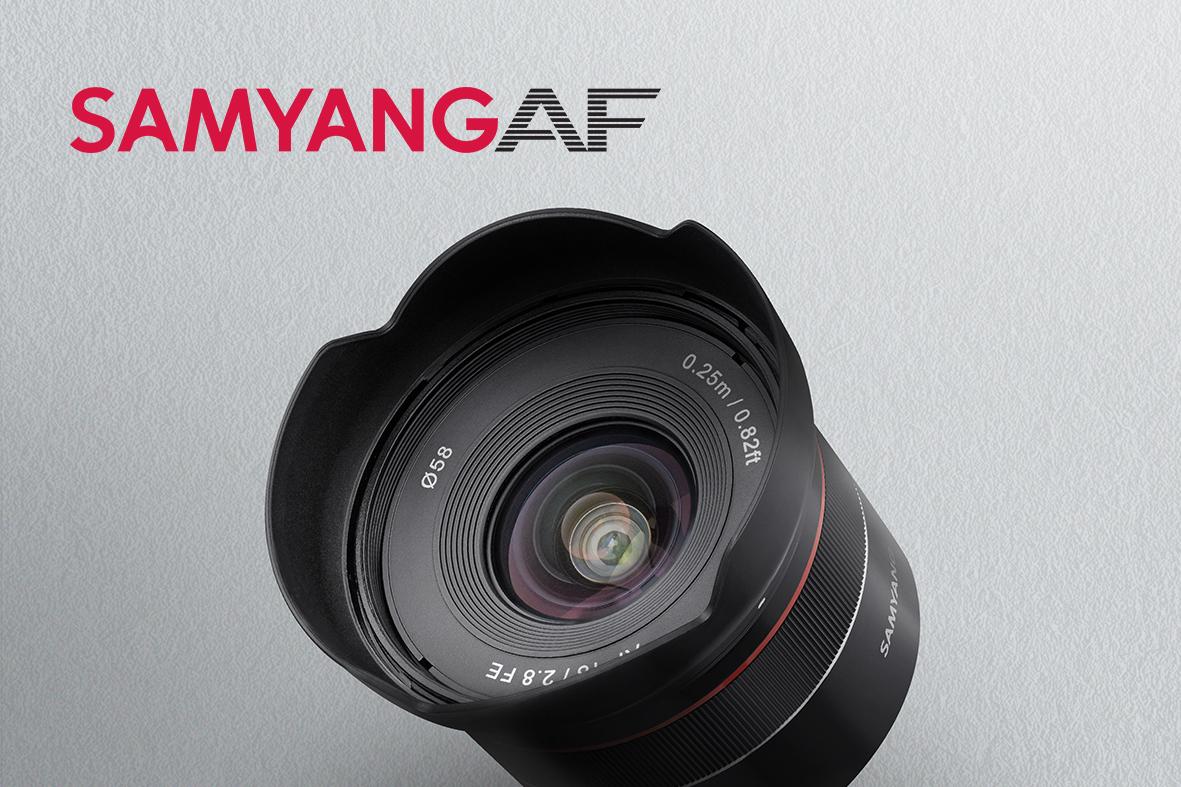 Širší výhled s novým kompaktním objektivem Samyang AF 18mm f/2.8 pro bajonet Sony FE