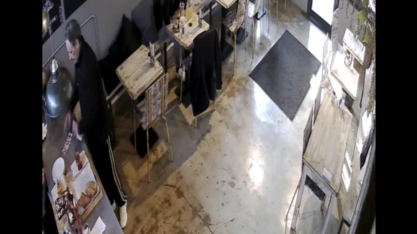 CCTV footage of incident  22 February 2018