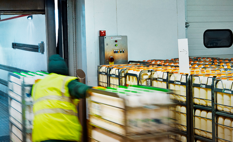 Arla Oy laajentaa yhteistyötään LTP Logistics Oy:n kanssa Turussa