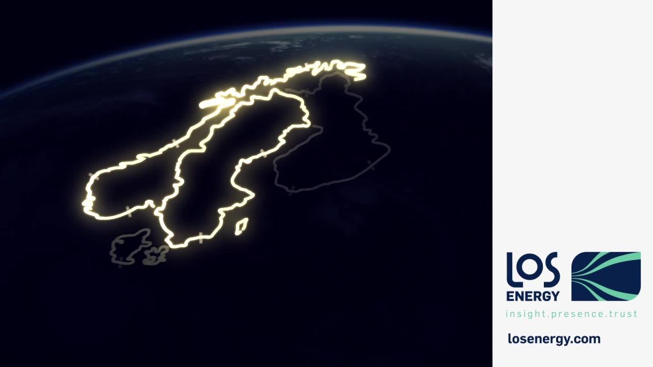 LOS Energy har kunder i alle nordiske land og er Norges største leverandør av strøm til bedriftsmarkedet.