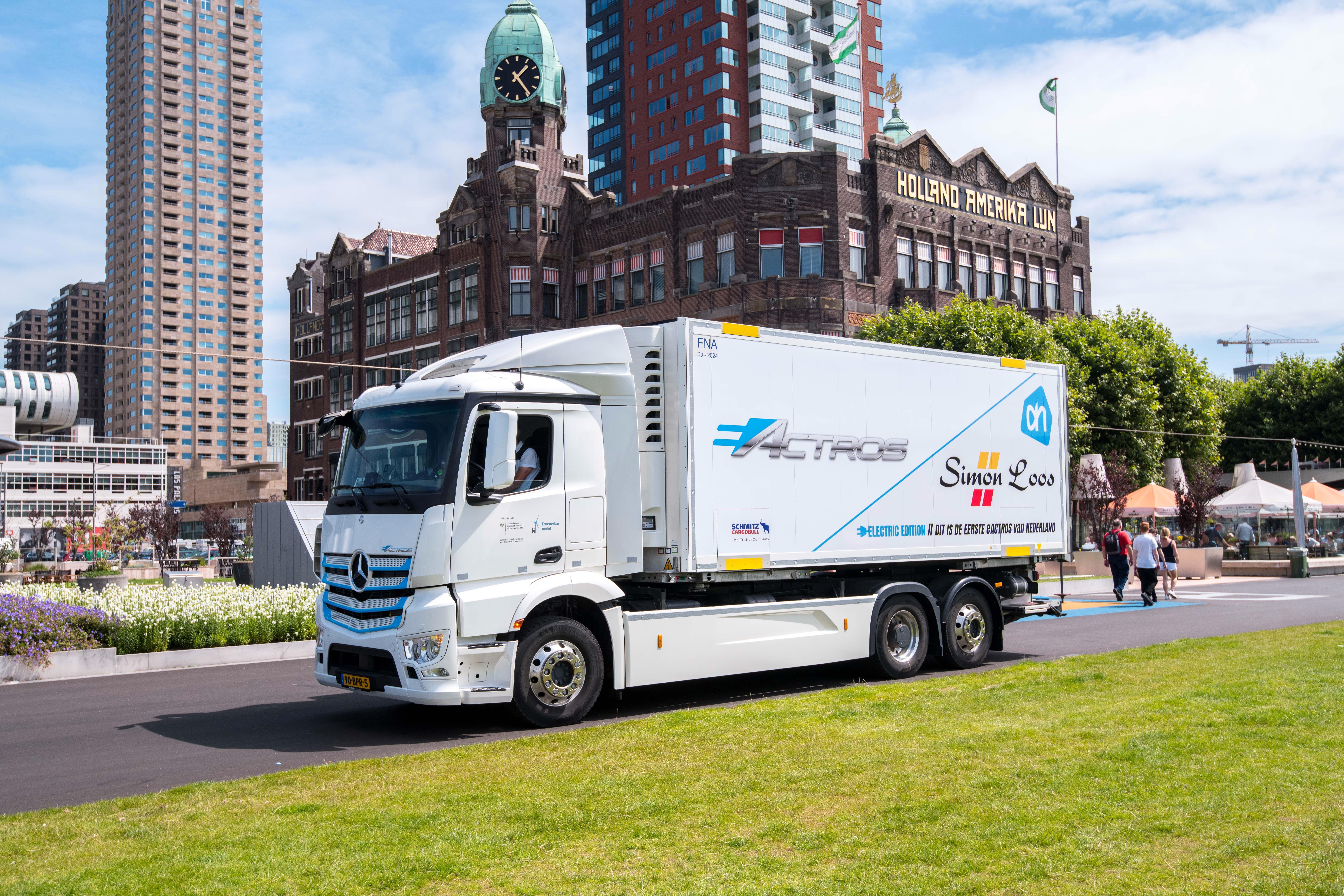 Spännande 2021 för Mercedes-Benz lastbilar i Sverige