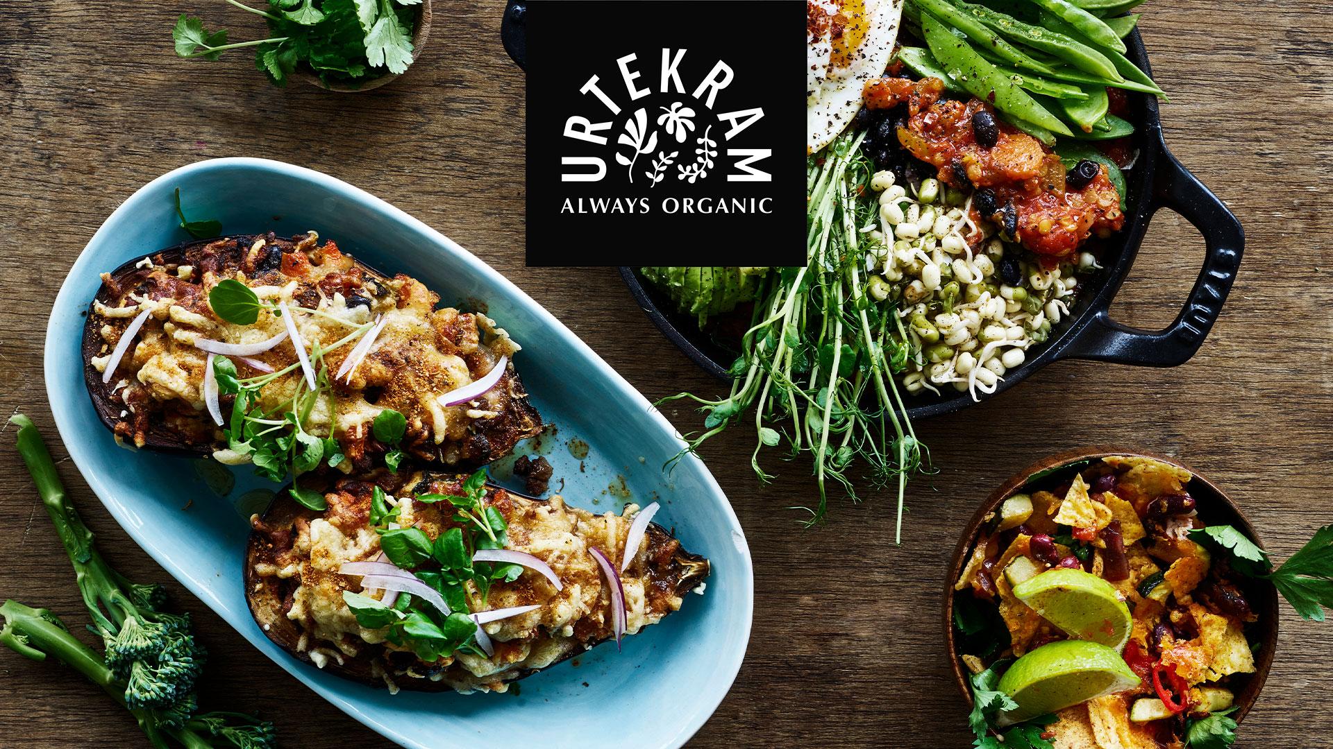 NYHED: Nemme økologiske bælgfrugter fra Urtekram  – sæt plantebaseret på menuen i et snuptag!