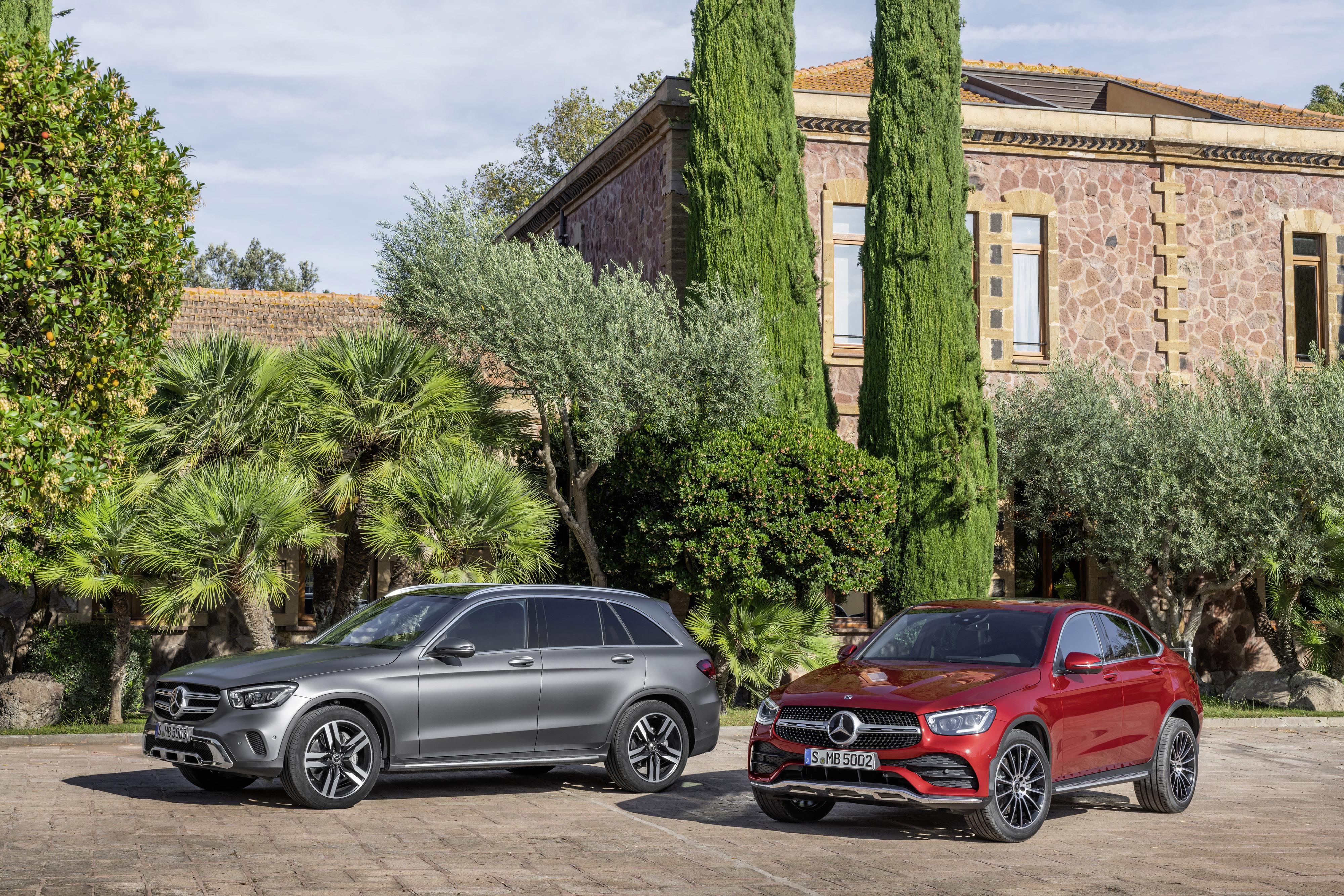 Svensk säljstart för Mercedes GLC som laddhybrid med diesel.