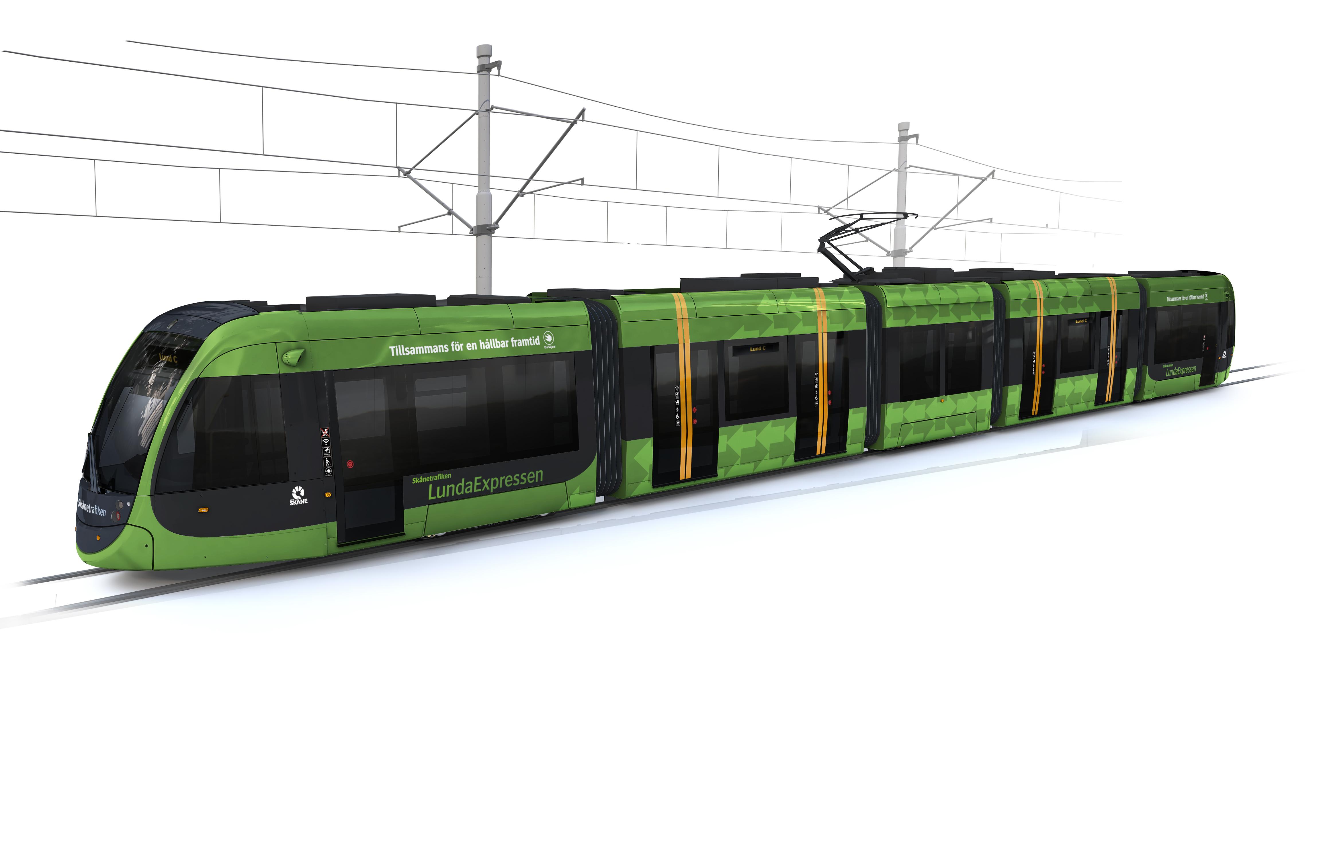 Vad ska de sju spårvagnarna i Lund heta? Var med och föreslå!