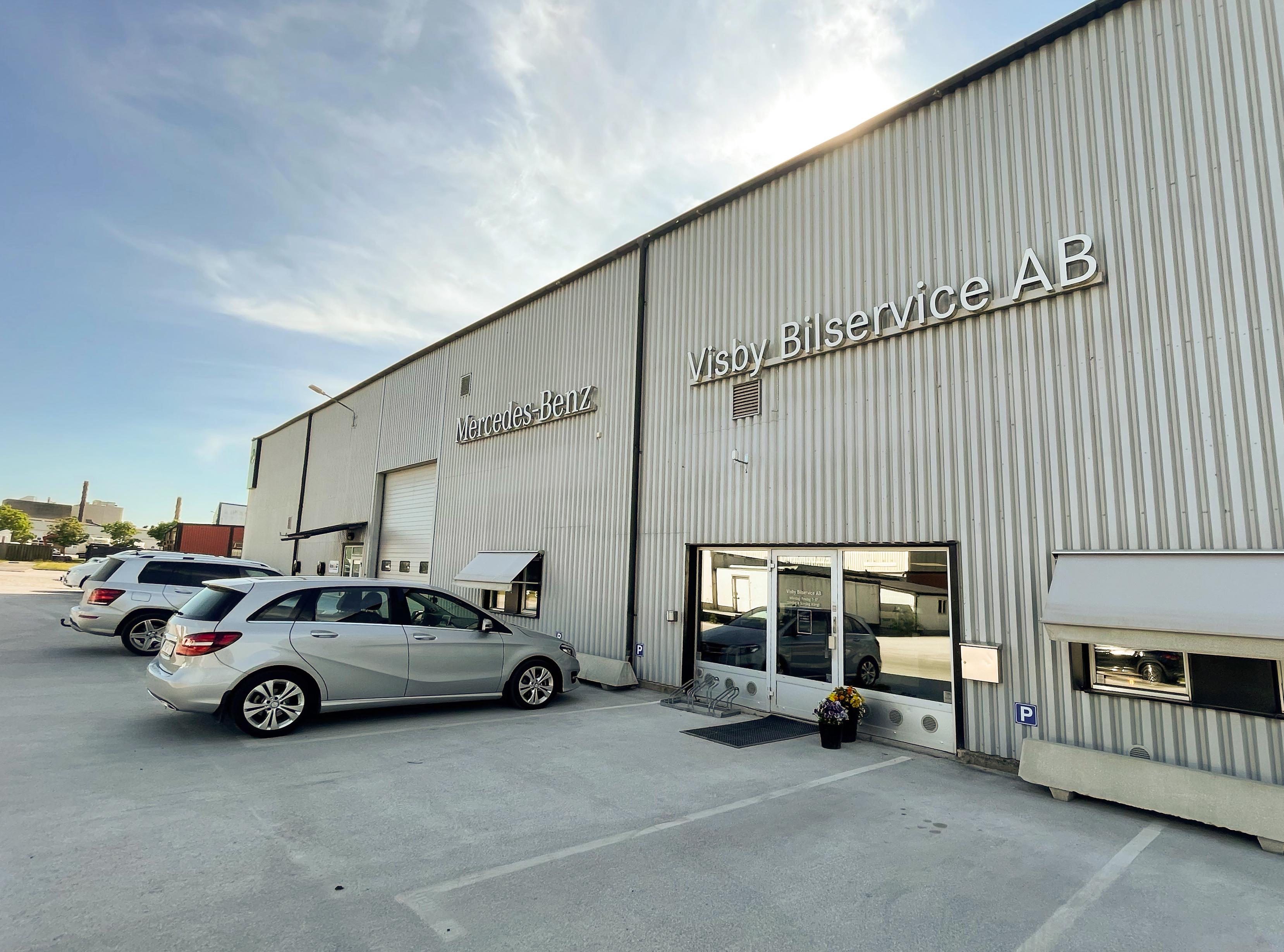Gotland får Mercedes-Benz lastbilsverkstad