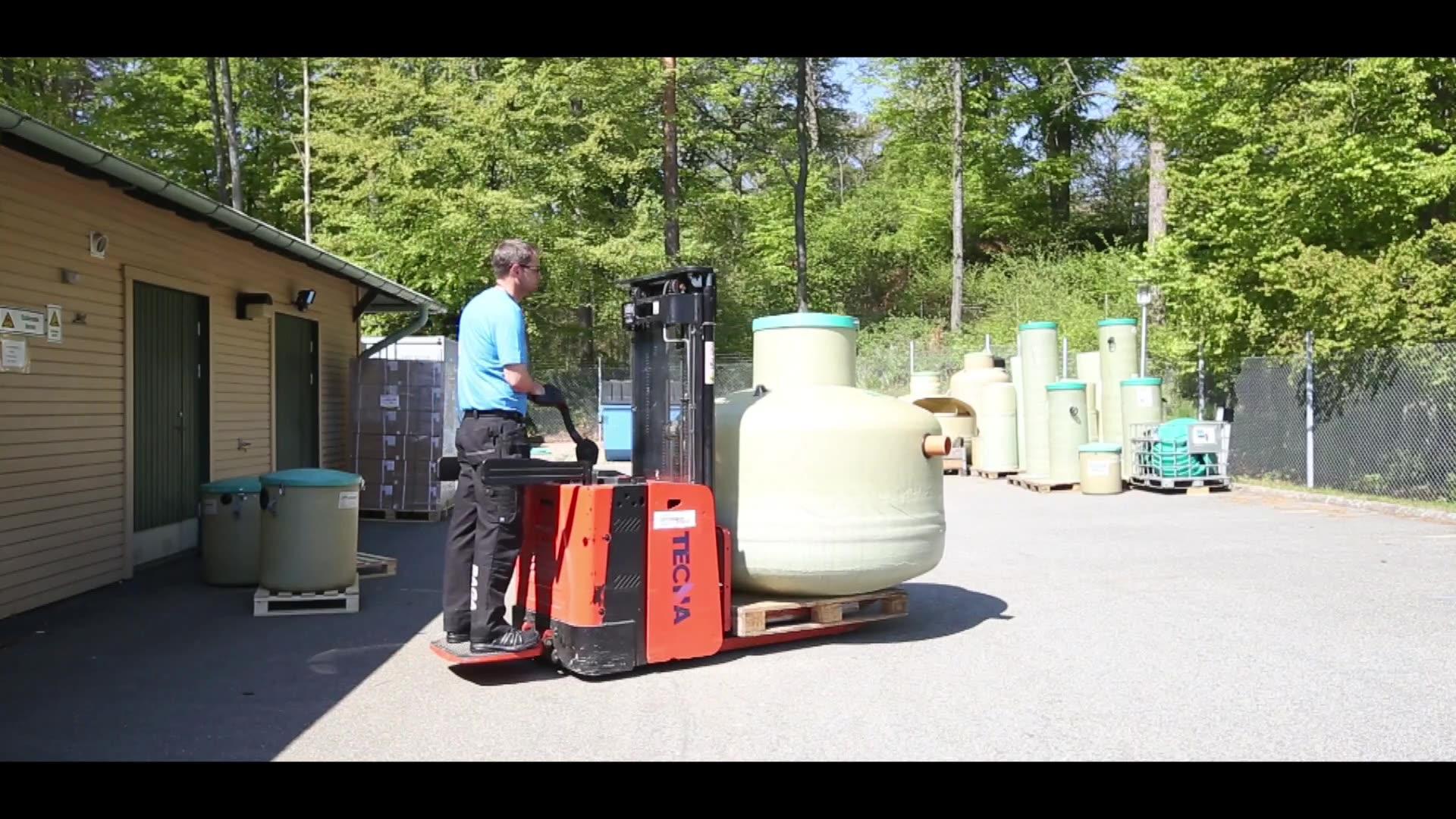 Markbaserad rening, BAGA Water Technology AB.