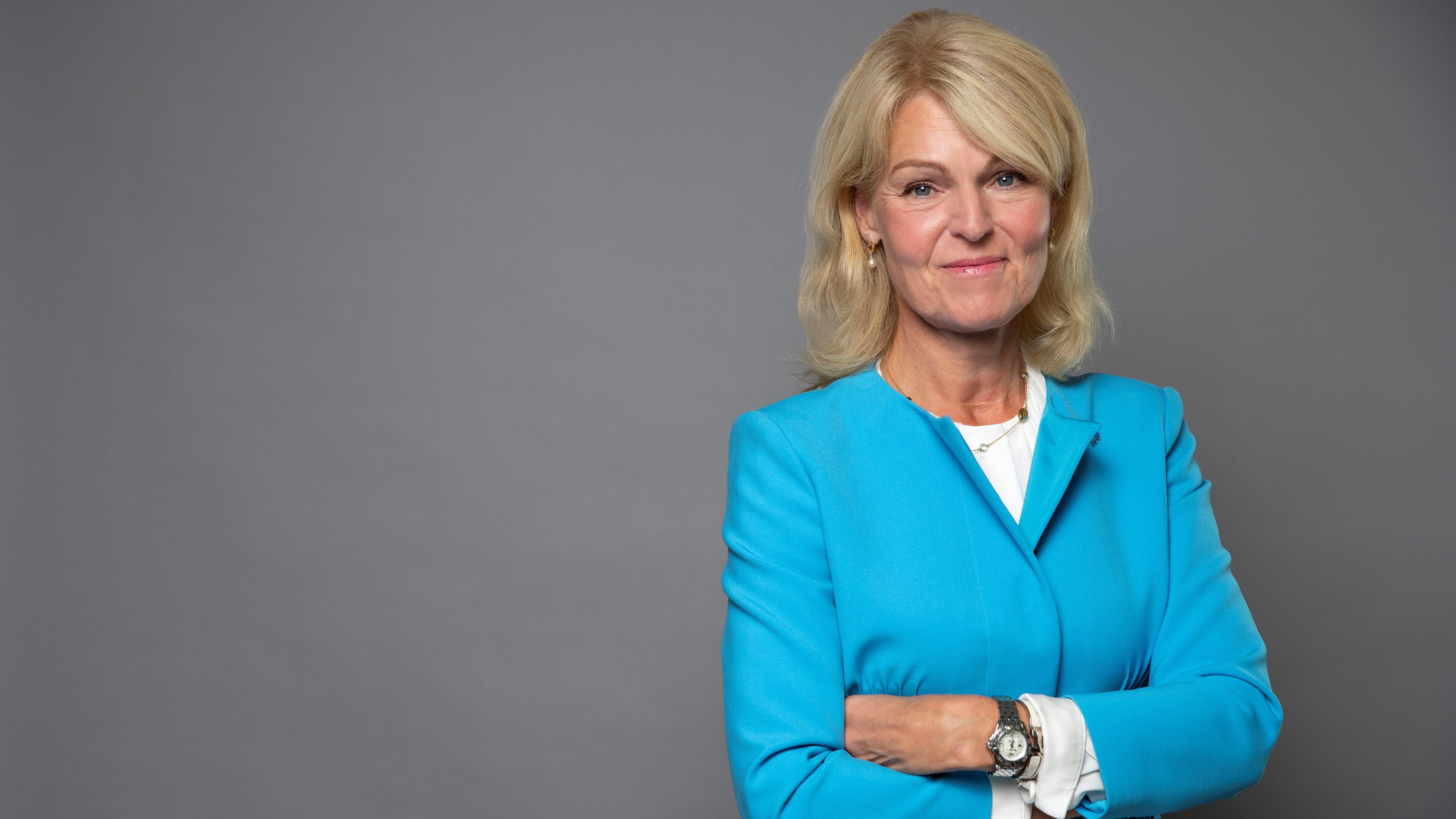 I veckan gör utrikeshandelsminister Anna Hallberg ett digitalt besök hos Region Dalarna. Foto: Kristian Pohl/Regeringskansliet