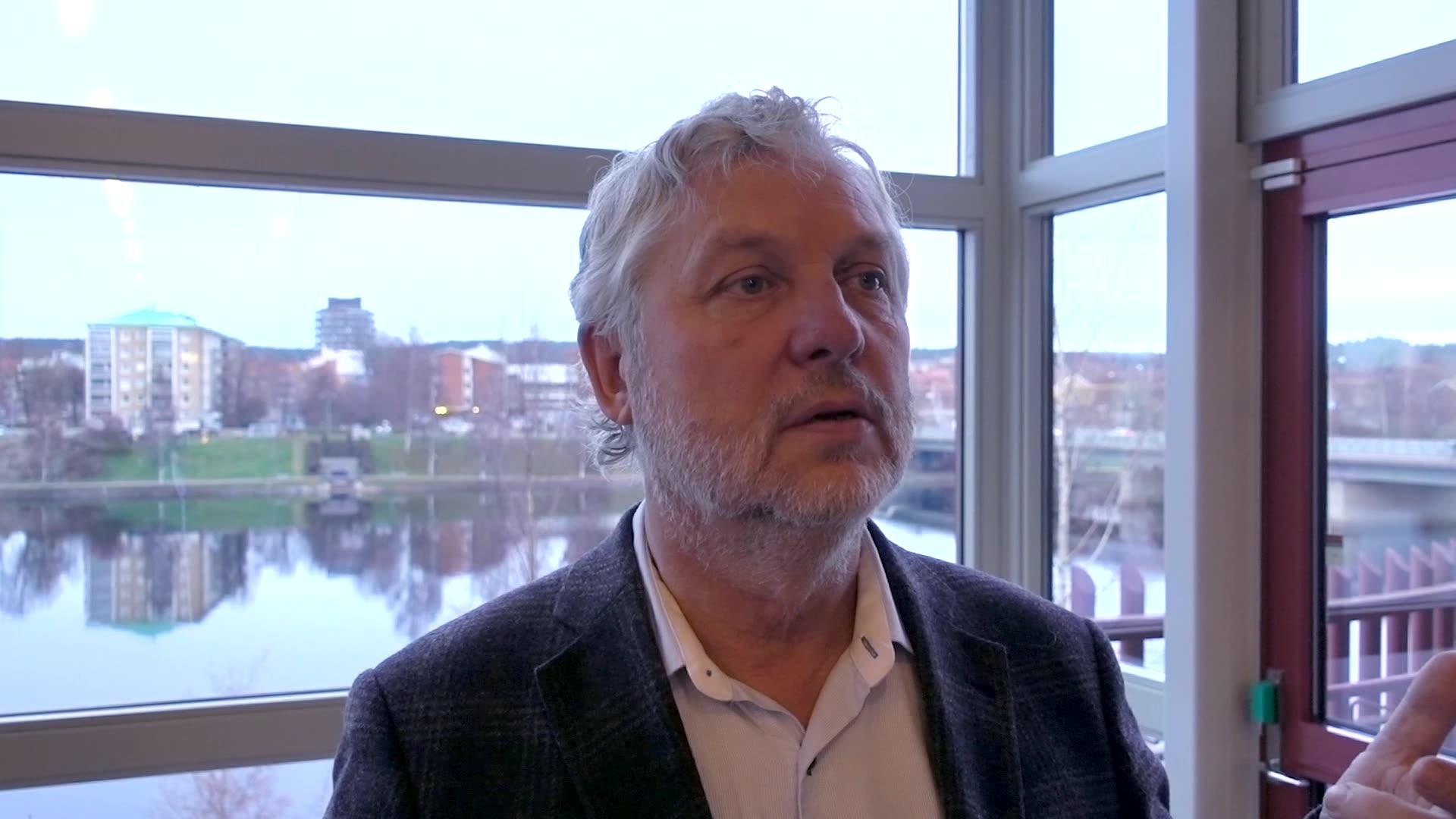 Bostads- och digitaliseringsminister Peter Eriksson på Wood Building Summit