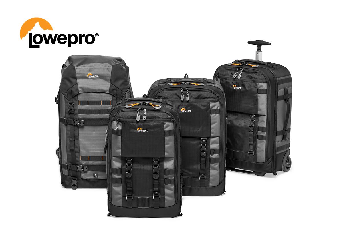 Lowepro släpper nya väskor för proffs.