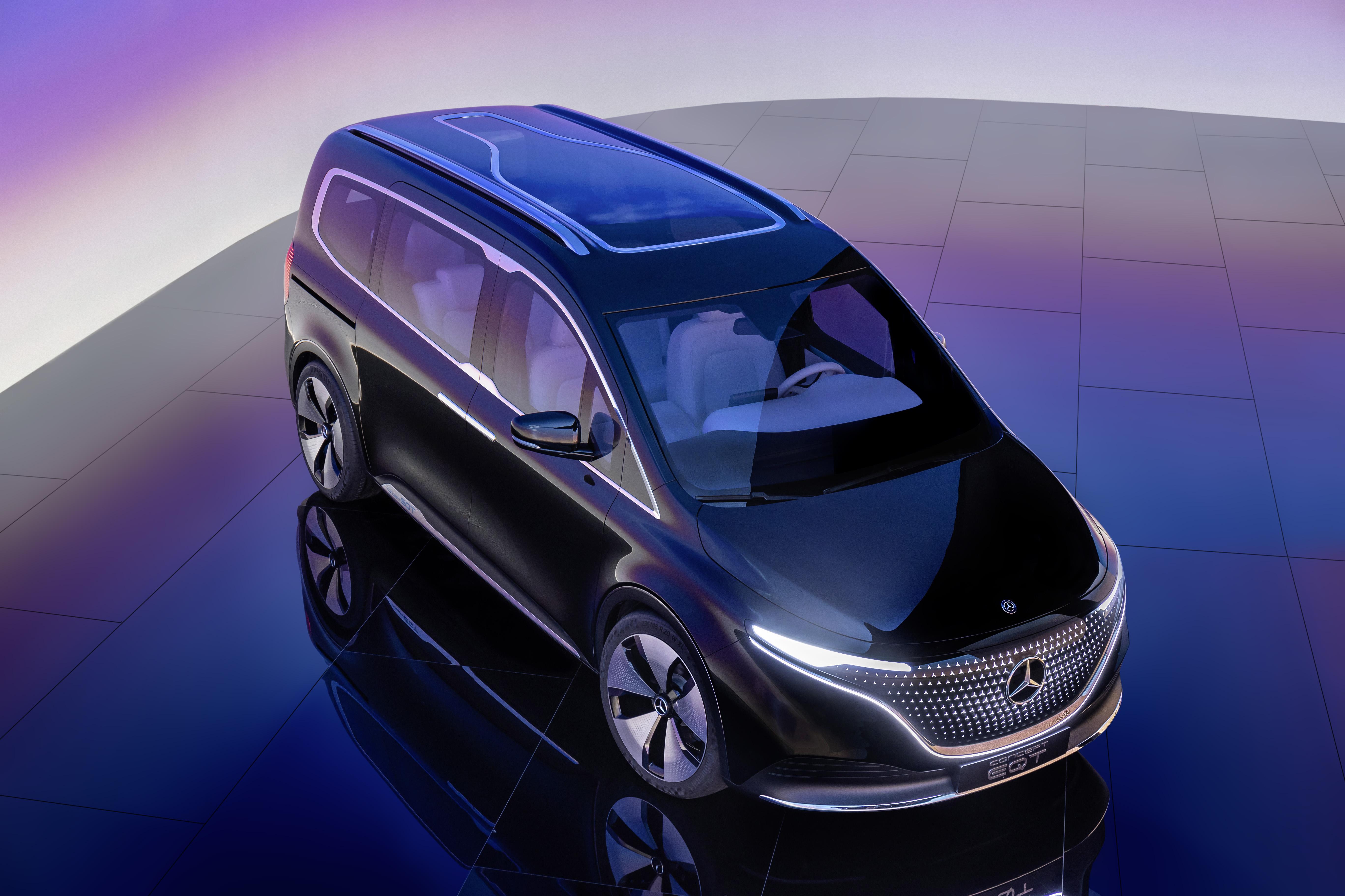 Concept EQT – Eldrivet i ny klass från Mercedes-Benz