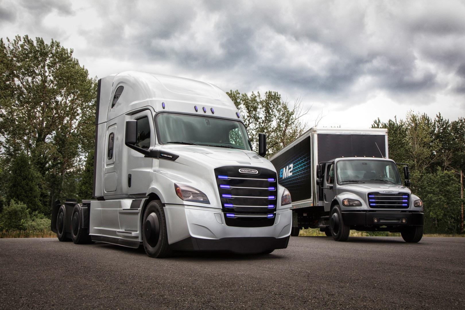 Daimler storsatsar på eldrivna och självkörande lastbilar.
