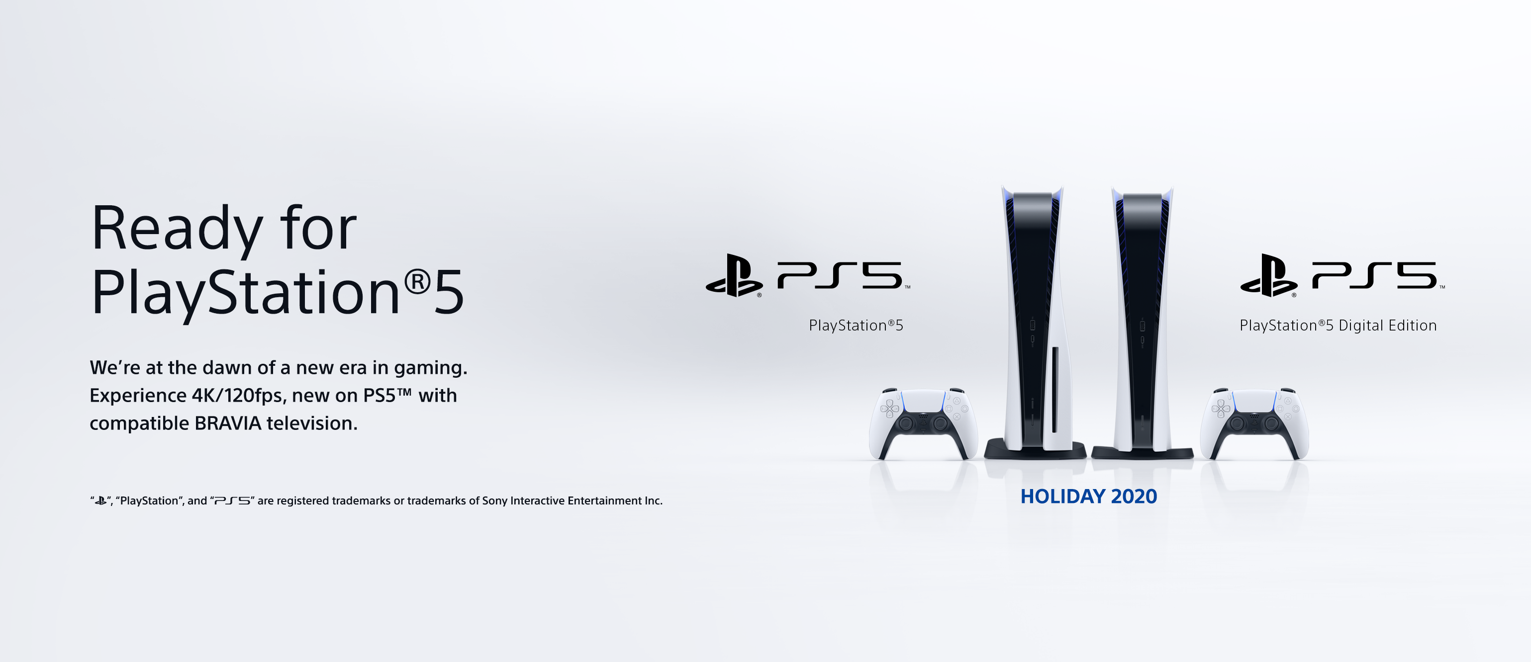 Sony Announces Ready For Playstation 5 For Current Bravia Tvs Sony Europe