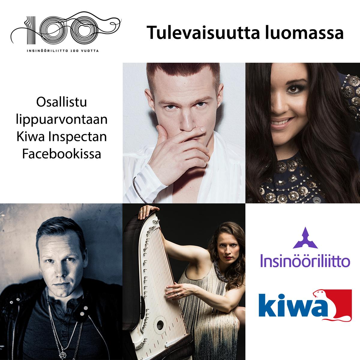 Konserttikiertueella esiintyvät Olavi Uusivirta, Diandra, Ida Elina ja Osmo Ikonen.