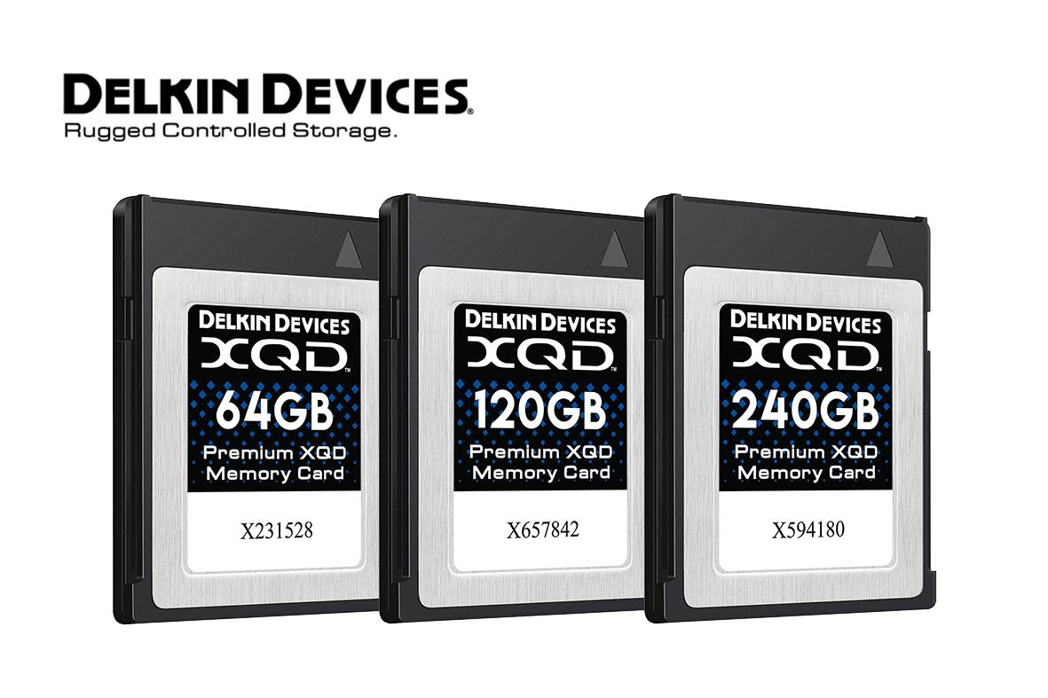 Delkin wprowadza karty XQD o maksymalnej wydajności