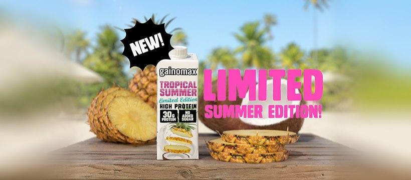 UUSI gainomax Tropical Summer kausimaku kesän treeneihin!
