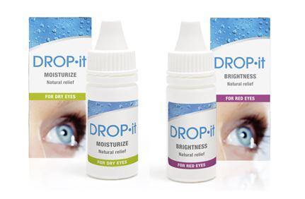 Kirkasta katseesi uusilla Drop it - silmätipoilla! Apua kuiville ja punoittaville silmille