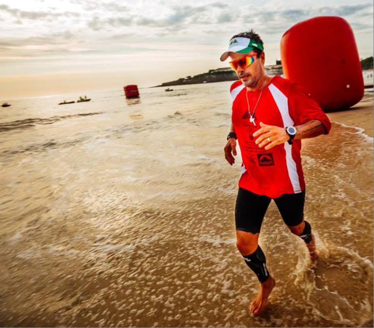 World record-breaking Brazilian runner endorses Lacprodan® HYDRO.365