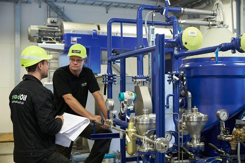 Unik processteknik för oljerening tar RecondOil ut i världen