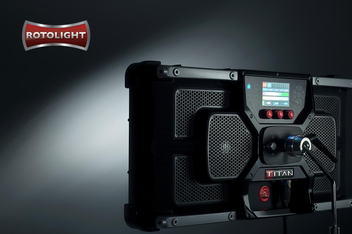 Rotolight Titan X2 – en ny epoke med filmbelysning
