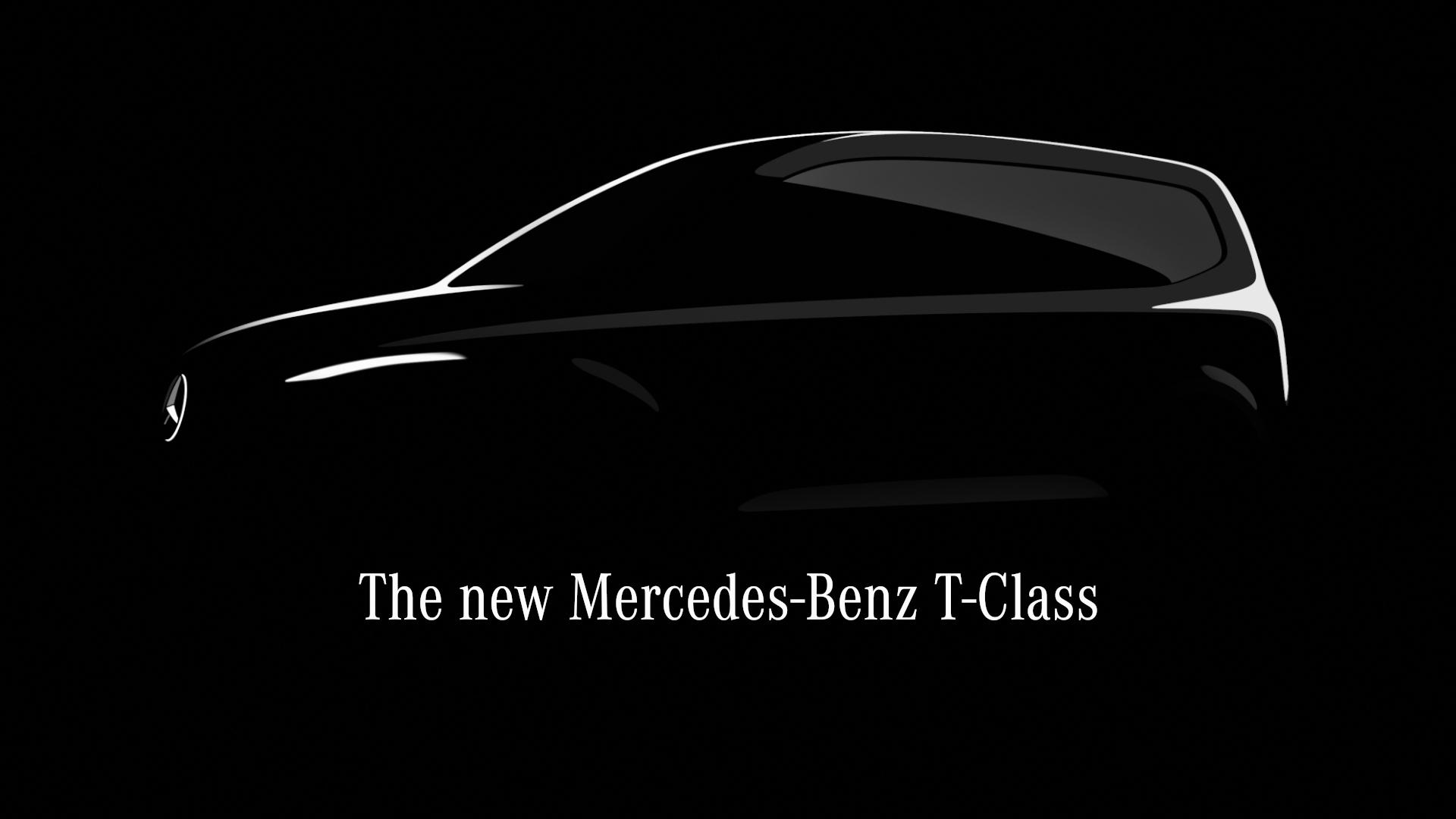 Nya Mercedes-Benz T-Klass: urban minivan för den aktiva familjen