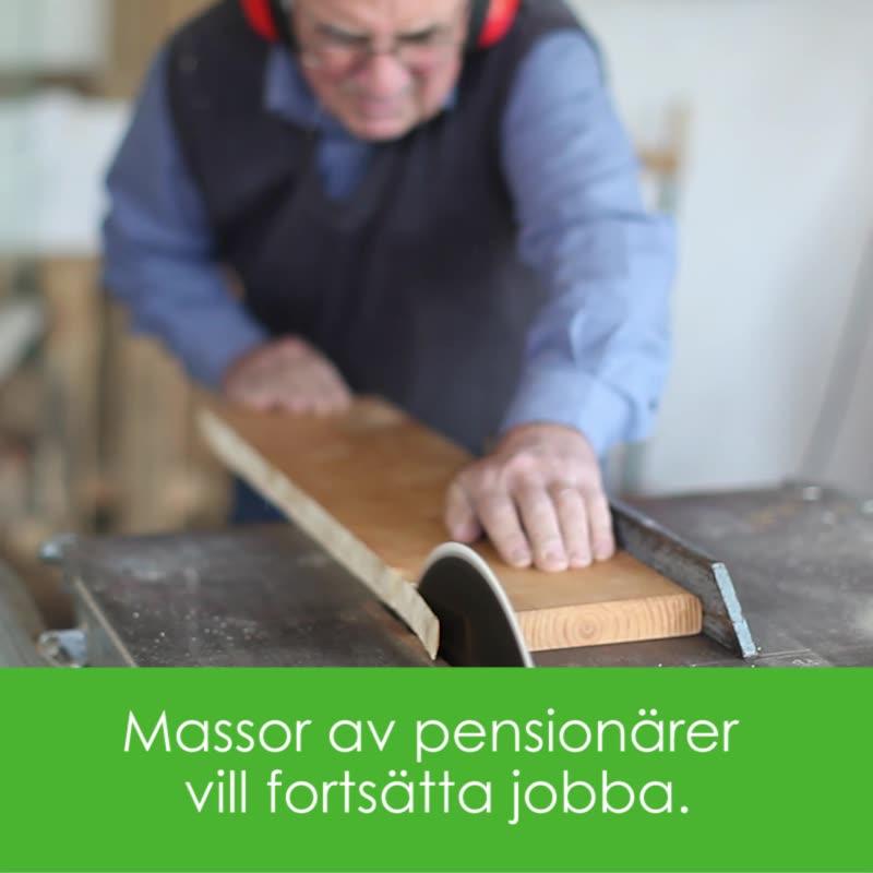 Pensionärer som jobbar - ett nödvändigt ont eller en superresurs